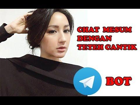 Download Video Chat Mesum dan Add Teteh Cantik Bot di Grub Telegram