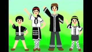 歌謠篇 噶瑪蘭語 01padadames ka kebalan 噶瑪蘭加油