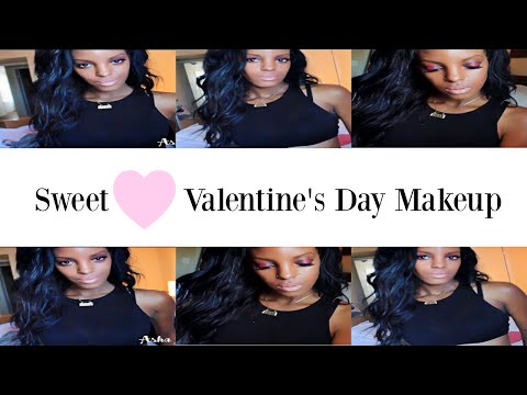 Sweetheart Valentine's Day Makeup