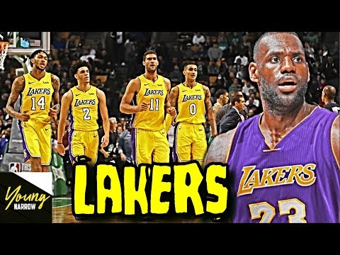 WHAT IF LEBRON JAMES SIGNS WITH THE LAKERS?! WILL HE WIN A CHAMPIONSHIP?! - SIMULATION ON NBA 2K18!!
