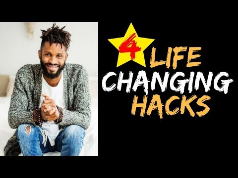 4 LIFE CHANGING HACKS!!!