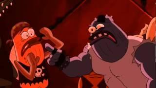 Spongebob V Kalhotách Ve Filmu - Nejlepší Scéna - Blbej Burák Aneb Lov Malých Prcků V Baru