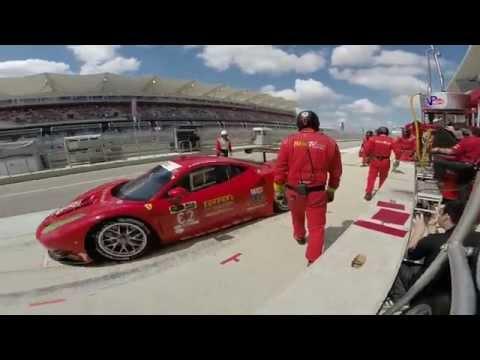 Falla en el pit de Ferrari