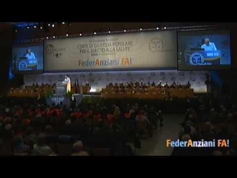 Messina all'Assemblea FederAnziani: essere nonni oggi pesa 30 mld di euro l'anno