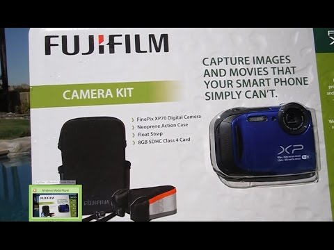 Fujifilm FinePix XP70 Camera Review & Demo