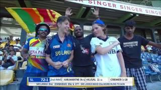 Day 4 Highlights - Sri Lanka v Zimbabwe Only Test at RPICS