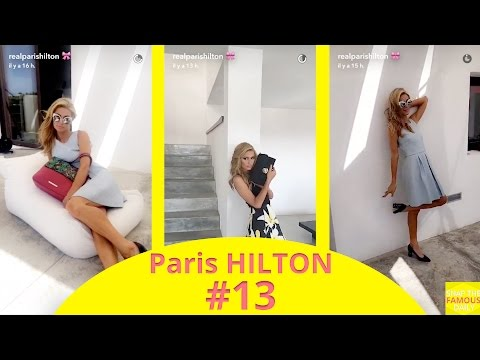 Paris Hilton doing a photoshoot for her new line in Ibiza - snapchat - august 2 2016