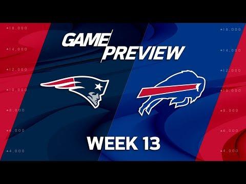 Video: New England Patriots vs. Buffalo Bills | NFL Week 13 Preview | Film Review
