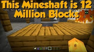 I Found An INFINITE Mineshaft Seed - There Are TRILLIONS??