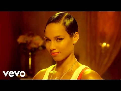 Alicia Keys - Girl On Fire (видео)