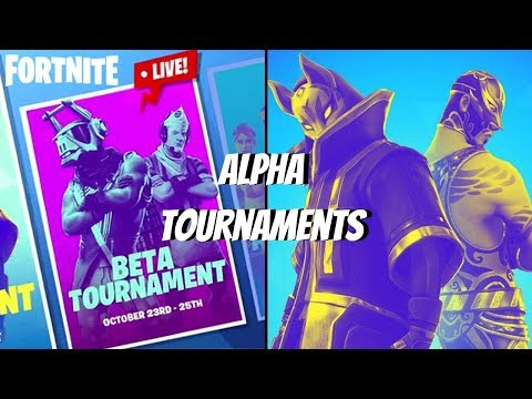 *LIVE* Fortnite Alpha Tournament (matchmaking Error)