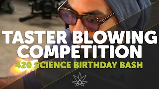 Glass Blowing Competition  //  420 Science Club by 420 Science Club