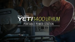 Get a Free GOAL ZERO YETI 1400 LITHIUM PORTABLE POWER STATION