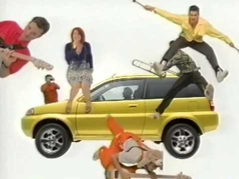 เคยเห็นกันหรือยัง โฆษณา HONDA HR-V เวอร์ชั่นญี่ปุ่น เมื่อปี 1998