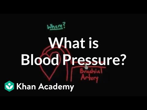 What Is Blood Pressure Video Khan Academy