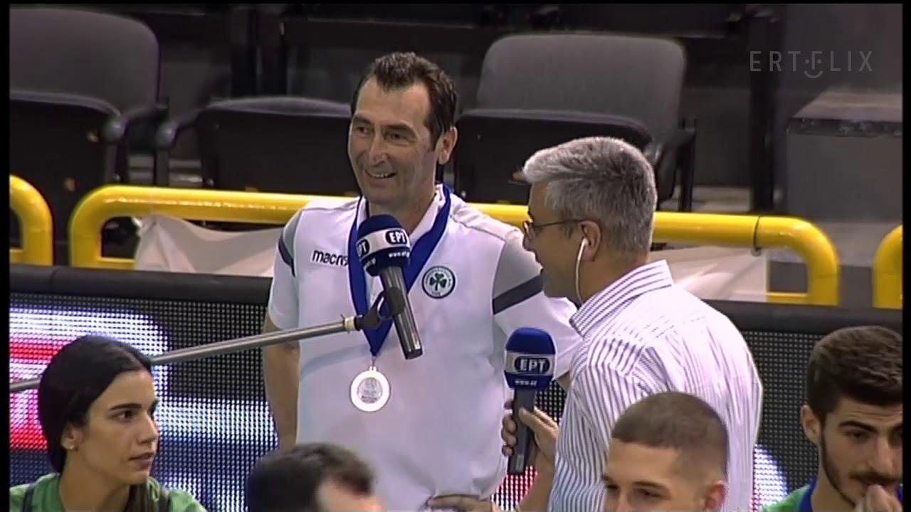 Ανδρεόπουλος: Πρωτάθλημα που αξίζει σε όσους βοήθησαν την ομάδα   12/07/20   ΕΡΤ