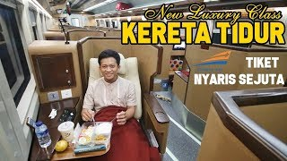 Video Naik KERETA API LUXURY SLEEPER SEAT | NYAMAAAN BANGET | Jakarta - Surabaya MP3, 3GP, MP4, WEBM, AVI, FLV Oktober 2018