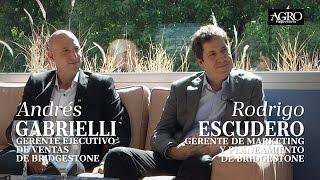 Andrés Gabrielli y Rodrigo Escudero - Bridgestone