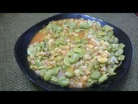 Zuppa di Fave fresche