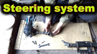 In this video, I build a steering system for my minitractor. Spare parts I use from old cars.Puller made with own hands: https://www.youtube.com/watch?v=Dj25ZrmDmPEHomemade lathe for wood: https://www.youtube.com/watch?v=Ck_EL33PMg0Homemade wheel hand hoe. Garden wheel hoe: https://www.youtube.com/watch?v=H2rn-TsGvkkPlanting potatoes using a garden tractor: https://www.youtube.com/watch?v=OnQXoD3h58oHilling potatoes using a garden tractor: https://www.youtube.com/watch?v=gIqg-h6QAgoHomemade garden tractor digging potatoes: https://www.youtube.com/watch?v=wDgu18zQaQwMy homemade garden tractor: https://www.youtube.com/watch?v=Mt5xFKd0vAcThe process of assembling my garden tractor: https://www.youtube.com/watch?v=3JkUFFnmglkLiberal DIY: https://www.youtube.com/channel/UCfy35XU-M9w-jXmNUsO--fA