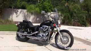 7. Used 2004 Honda VT600C Shadow VLX Motorcycle for sale