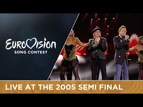 Donna and Joe - Love? (Ireland) Live - Eurovision Song Contest 2005 (видео)