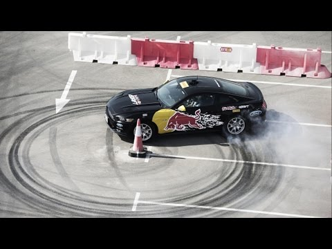 Oman's Ali Al Balushi runner-up in the 2015 Red Bull Car Park drift
