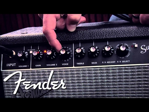 Nuovo Fender Super Champ X2