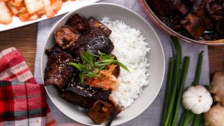 Soy-Braised Short Ribs and Shiitakes by Tasty