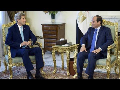 Αίγυπτος: Συζητήσεις Τζων Κέρι για διεθνή τρομοκρατία και ασφάλεια