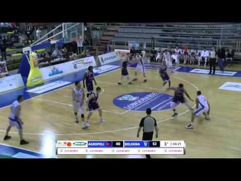 Fortitudo, gli highlights del match Gara 1 contro Agropoli