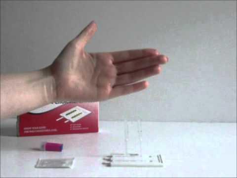 Home Cholesterol Test (Total & HDL) Demonstration