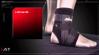 Zamst A1 Ankle Brace: http://zamst.us/product/a1.2.html The A1 provides moderate support for mild to moderate ankle sprains. The A1 incorporates a-fit ...