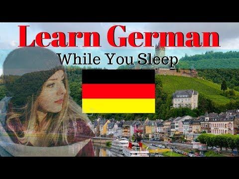 Learn German While You Sleep 😀 130 Basic German Words and Phrases 🍻 English/German (видео)