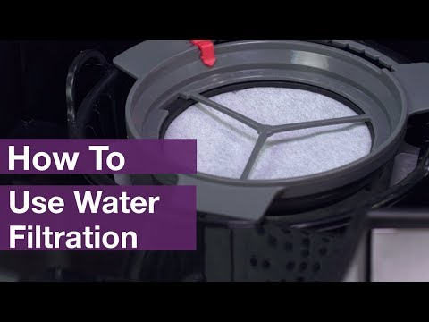 How to Use Mr. Coffee® Water Filtration