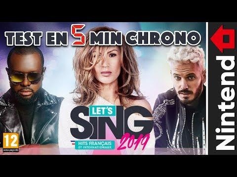 LET'S SING 2019 HITS FRANÇAIS ET INTERNATIONAUX NINTEND