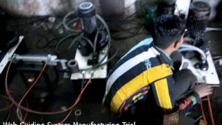 Web Guiding System Manufacturing Trial – Krishna Engineering Works