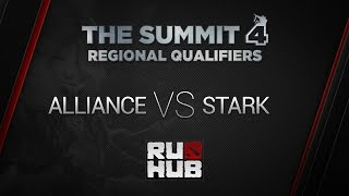 STARK vs Alliance, game 1