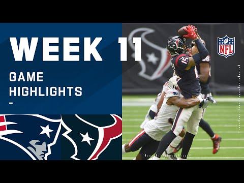 Patriots vs. Texans Week 11 Highlights   NFL 2020