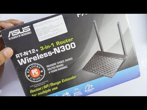Asus RT-N 12+ Budget Wireless Router & Repeater Review