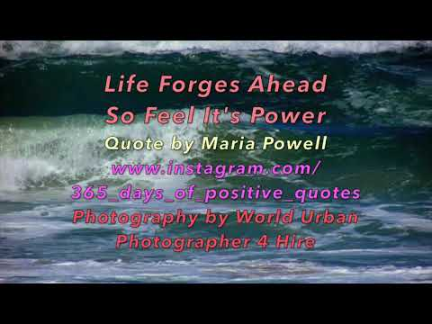 Positive quotes - 11 February 2018 - 365 Days Of Inspirational Motivational Positive Daily Quotes - Day 40 - Video