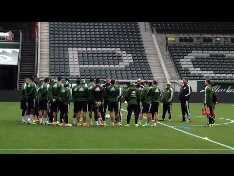 Video: Caleb Porter on the first week of the season | 2014 Timbers Training