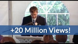 Video Best Brother Wedding Speech Kills Crowd (hilarious ending!) MP3, 3GP, MP4, WEBM, AVI, FLV September 2019