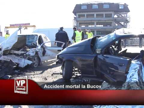 Accident mortal la Bucov
