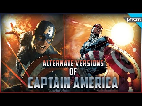 The Alternate Versions of Captain America Throughout His 76 Year
