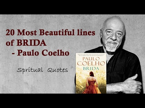 20  Most Beautiful Lines of Paulo Coelho in his novel Brida