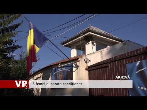 Cinci femei eliberate condiționat în Prahova