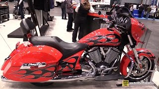 8. 2015 Victory Cross Country - Walkaround - 2014 New York Motorcycle Show