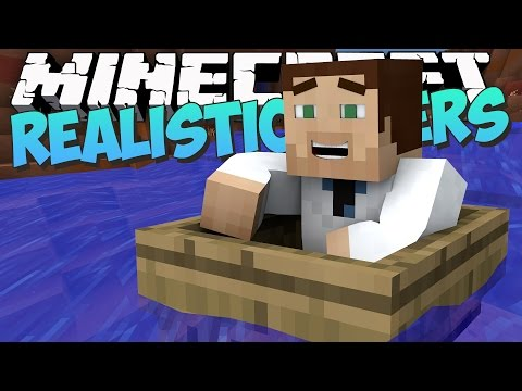 Realistic Flowing Rivers in Minecraft?! - Streams Mod Showcase