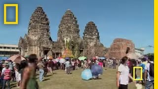 Lopburi Thailand  city photos : Lopburi Monkey Festival | National Geographic